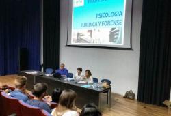 El COPIB participa en les V Jornades del Pràcticum per a estudiants de la Facultat de Psicologia de la UIB