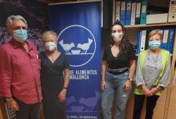 Representants del COPIB es reuneixen amb el president del Banc d'Aliments de Mallorca