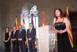 El Degà del COPIB assisteix a la presa de possessió de Francina Armengol com a Presidenta del Govern de les Illes Balears, a la Llotja de Palma
