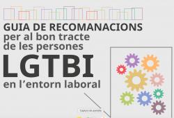 """Vocalia d'Igualdad y Gènere. Document d'interès: """"Guia de recomanacions per al  bon tracte de les persones LGTBI en l'entorn laboral"""""""
