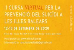 El COPIB, entitat col·laboradora de la II Carrera Virtual per la prevenció del suïcidi i del I Hackathon online sobre prevenció del suïcidi en la infància i l'adolescència