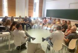 El COPIB participa en la reunión del Área de Intervención Psicológica en Emergencias y Catástrofes del COP