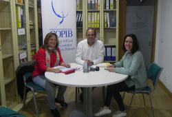 El COPIB i el comitè organitzador del XIII Congrés Internacional de Cures Pal·liatives que acollirà Palma, estableixen les bases d'un acord per a col·laborar en la difusió de l'esdeveniment