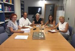 Representants de la Junta de Govern del COPIB es reuneixen amb la nova directora de l'IB-Dona