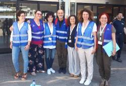 El GIPEC IB participa en un simulacre d'emergència d'assistència a familiars i víctimes d'un vol accidentat a l'aeroport de Palma