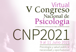 Celebració del V Congres Nacional de Psicologia. Juliol de 2021