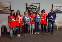Tres professionals del Grup d'Intervenció d'Emergències i Catàstrofes de Menorca participen en un nou simulacre a l'aeròdrom menorquí