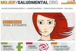 Nova web d'informació a dones amb problemes de salut mental