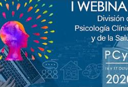 Video de la I Webinar de la Divisió de Psicologia Clínica i de la Salut organitzat pel Consell General de la Psicologia d'Espanya