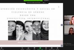 """Celebrat  el curs """"L'atenció psicològica i social en violència de gènero des d'una perspectiva intercultural"""""""