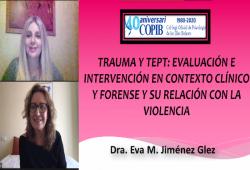 35 professionals de la psicologia varen seguir l'activitat formativa del COPIB sobre 'Trauma i TEPT', impartida per Eva María Jiménez