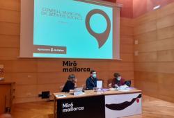 El COPIB participa en la reunió del Consell Municipal de Serveis Socials de l'Ajuntament de Palma