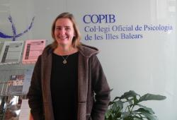María Francisca Morell García, primera estudiant precol·legiada del COPIB