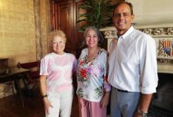 Representants de la Junta de Govern del COPIB es reuneixen amb la Consellera de Presidència del Consell de Mallorca