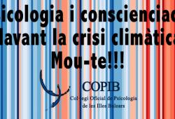 Psicologia i conscienciació davant la crisi climàtica.  Mou-te!