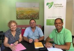 Reunión entre el COPIB y el Teléfono de la Esperanza para estudiar vías de colaboración para prevenir el suicidio en las Illes Balears