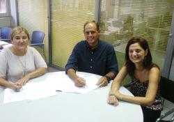 El COPIB signa un conveni de col·laboració amb l'Institut Balear de la Dona