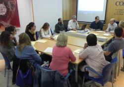Visita institucional del Degà de la Facultat de Psicologia de la UIB al COPIB