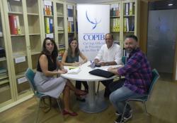Representants del COPIB i del Col·legi d'Educadores i Educadors Socials de les Illes Balears es reuneixen per a estudiar vies de col·laboració