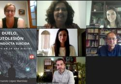 """El COPIB celebra la presentación del libro """"Duelo, autolesión y conducta suicida. Desafíos en la era digital"""", de Luis Fernando López Martínez"""