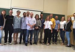 Reunió del III Encontre Anual Interterritorial de la Divisió de Psicologia de l'Activitat Física i l'Esport