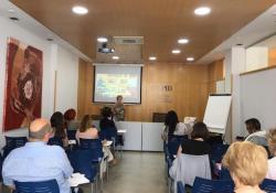 Excel·lent formació sobre 'Multiculturalitat i intervenció en emergències' a càrrec de Dolores Cañossantos