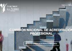 Documentació per l'acreditació nacional del professional de la Psicologia especialista en Neuropsicologia Clínica