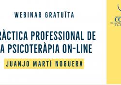 WEBINAR GRATUITO: Práctica profesional de la psicoterapia en línea