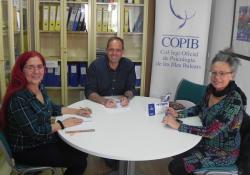 El COPIB es reuneix amb la senadora de Podem Illes Balears, Margalida Quetglas, per abordar la problemàtica del suïcidi en l'adolescència