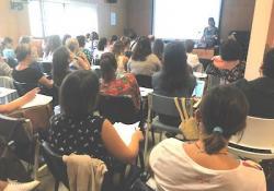 """Gran èxit d'assistència al curs de Dolores Mosquera sobre """"Eines terapèutiques per al maneig del trauma i la dissociació"""""""