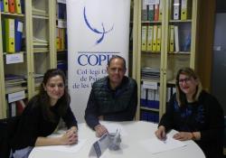 Representantes del COPIB se reúnen con la nueva presidenta de Ben Amics para revisar y dar continuidad al convenio de colaboración entre ambas entidades