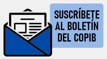 Suscríbete al Boletín del COPIB