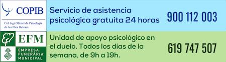 Servicio de ayuda psicológica COVID-19